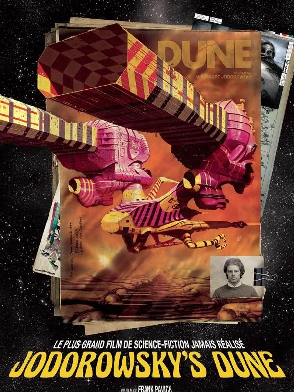 Jodorowsky's Dune, visuel VOD.